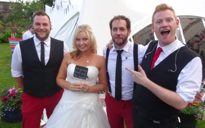 The Superlicks @ Alison & Mark's Wedding