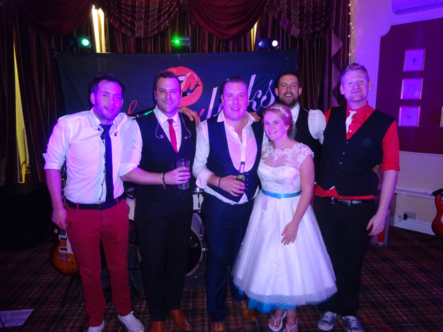 The Superlicks @ Cheryl & James' Wedding
