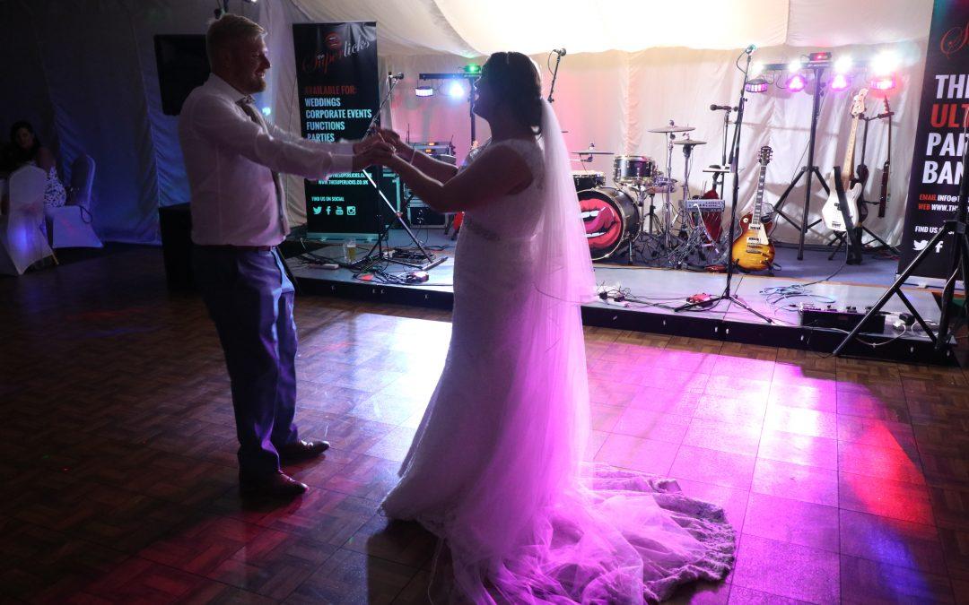 The Superlicks @ Luke & Sarah's Wedding